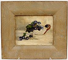 Late 19th C. Floral Still Life