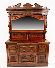 19th C. French Walnut Buffet