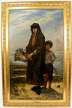 D. Jerome Elwell, Large Mother & Child Oil