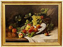 Zabehlicky Still Life with Fruit Oil