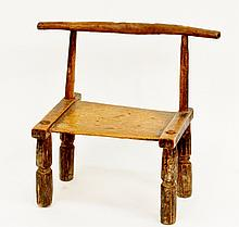 Chinese Wooden Child's Chair