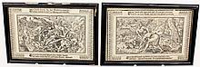 Two 17th C. German Biblical Prints
