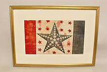 Rare 39 Star Patriotic Flag Banner