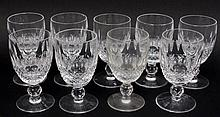 9 Waterford Cordial Glasses