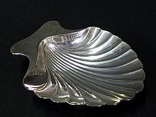 Tiffany & Co. Sterling Shell Dish