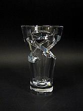 Contemporary Baccarat Crystal Vase