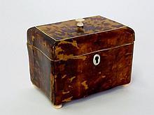 Tortoise Shell Dresser Box
