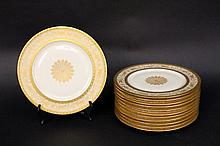 Set of 12 Heinrich & Co Dinner Plates