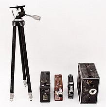 Group of Four Vintage Cine Kodak Movie Cameras