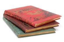 3 Milton & Alighieri Books c.1900 w/ Gustave Dore