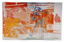 After Rauschenberg, NGA Exhibition Poster, 1991