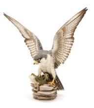 Boehm Bisque Porcelain Peregrine Falcon (100-12)