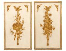 Pair Of Italian Gilt Boiserie Interior Panels