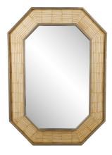 Rudolf Collection Tessellated Bone Wall Mirror