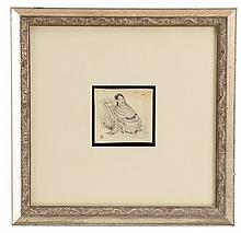 Jean Charlot Litho Gifted to Critic James W. Lane