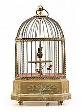 German Singing Bird Cage Automaton, Karl Griesbaum