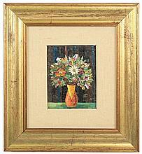 Italian Micro Mosaic Floral Still Life