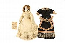 19th C. French Bisque Doll Nonpareil