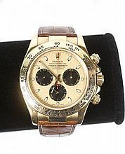 Men's Rolex 18k Gold