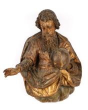 17th C. Spanish Giltwood Carving of God the Father