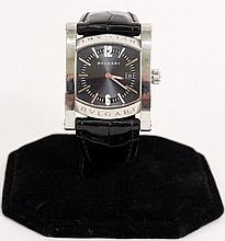 Stainless Steel Strap Watch by Bulgari