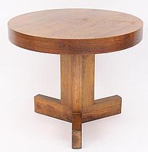 Lane Mid Century Modern Circular Accent Table