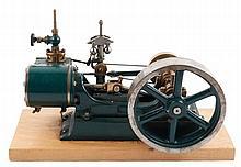 Stuart Hand Built Horizontal Steam Engine Model
