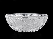 Lalique Art Glass 'Pinsons' Bowl