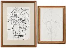 Carl Kohler, Group of Two Figural Drawings