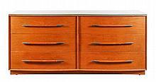 Widdicomb Walnut Dresser by Robsjohn-Gibbings