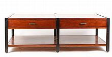 Mitchell Gold + Bob Williams 2 Drawer Low Table