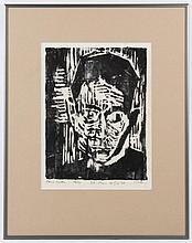 Carl Kohler, Woodblock Print,