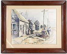 Ruth Appeldoorn Mead, Watercolor,