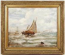 Andrew Melrose, Marine Painting, O/C, Signed