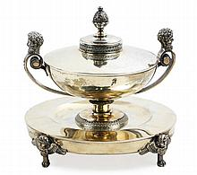 Gold Vermeil French Compote on Stand, c. 1805