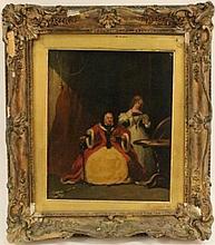 Attributed to Edward Matthew Ward Figural Painting
