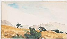 Charles Partridge Adams, Signed Colorado Landscape
