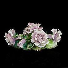 Capodimonte Floral Porcelain