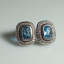 David Yurman Style Earrings