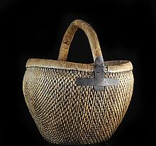 Antique Handmade Chinese Basket