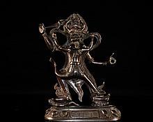 Bronze Dancing Buddah Figurine