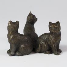 Vienna Miniature Bronze Cats