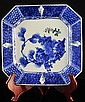 Japanese Meiji Octogonal Porcelain Plate