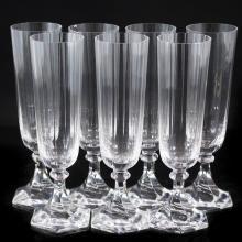 Sevres Crystal Champagne Flutes