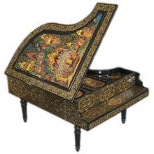 Decorative Papier Mache Lacquered Piano
