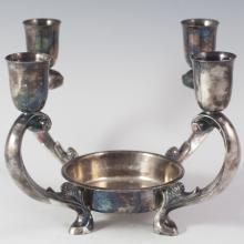Reed & Barton Silverplated Candleholder