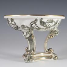 R. Capodimonte Porcelain Compote