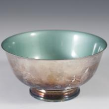 Reed & Barton Enameled Silverplated Bowl