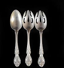 Set Of Three Gorham Sterling Silver Serving Utensils