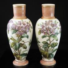 Old English Porcelain Vases
